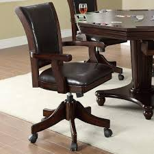 Game Table And Chairs Set Coaster 100873 100883 Turk 5 Pc Dark Mahogany Game Table And Chair