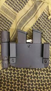 Double Magazine Pouch With Handcuff Holder Glock 100100100100100100 Double Magazine Pouch WCuffpouch 24