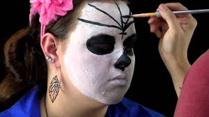 easy day of the dead makeup tutorial sugar skull you