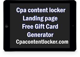 cpa script file free gift card generator