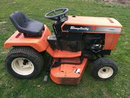 simplicity sovereign garden tractor mower kohler delivery available for