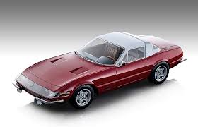 One of the most talked about releases of the 1968 paris motorshow was ferrari's brand new berlinetta. Amazon Com 1969 Ferrari 365 Gtb 4 Daytona Coupe Speciale Gloss Ferrari Red With White Top Mythos Series Ltd Ed 130 Pcs 1 18 Model Car By Tecnomodel Tm18 108 B Toys Games