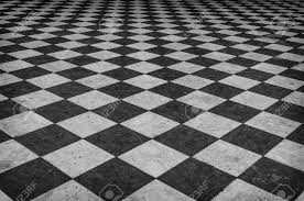 Floor Pattern Extraordinary Black And White Checkered Marble Floor Pattern Stock Photo Picture
