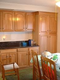 Update Cheap Light Oak Honey Kitchen Cabinets Railing Refinishing