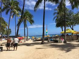貧乏ハワイ旅行海はフリーアクティビティ ハワイの行きやすく美しい