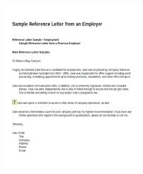 Sample For Reference Letter Sample Of Reference Letter For ...