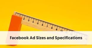 facebook ad sizes and specifications