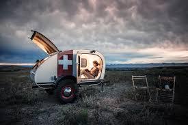 teardrop caravans design night