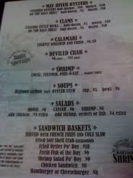 Bluffton Family Seafood House Menu