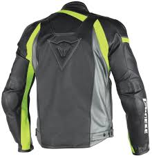 dainese veloster leather jacket perforated clothing jackets motorcycle black grey yellow dainese textile