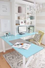 turquoise office decor. Elegant Home Office Decor Turquoise