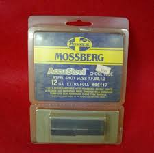 Mossberg 935 Choke Tube Chart Mossberg Accu Steel Choke Tube 12 Ga Extra Full