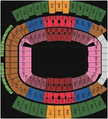Everbank Field Concert Seating Chart Altel Stadium Seating Chart The History Of Everbank Stadium