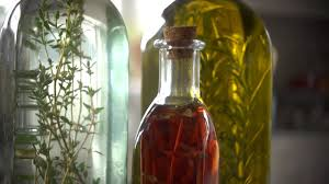 Decorative Infused Oil Bottles How To Make Herb Infused Oils And Vinegar At Home With P Allen 24