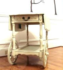 wood carts on wheels wooden tea cart antique vintage with