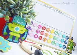 Somewhat Simple Chore Chart Magnetic Chore Chart For Kids Printables Somewhat Simple