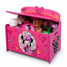 Minnie Mouse Stuff For Bedroom Disney Minnie Mouse Deluxe Toy Box Walmartcom