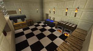 Minecraft Kitchen Detail My Minecraft Kitchen Cauldron Tripwire Sinks Minecraft
