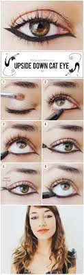 try an upside down cat eye for a more edgy look and dare to be diffe