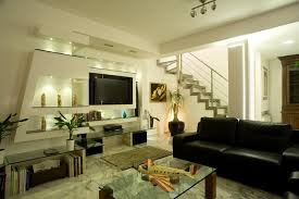 Living room Interior design with LCD TV - Livingroom - Home Interior Design  Ideas