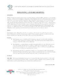 Electrical Work Proposal Template Job Example Bid