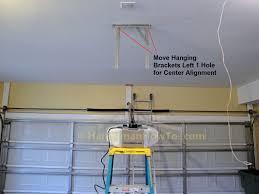 chamberlain belt drive garage door opener ceiling mounting bracket