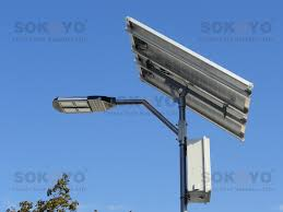 Solar Powered LED Street Light With Auto Intensity Control  ECE Solar Power Led Street Light