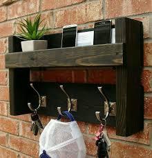 Coat Rack Mail Organizer PalettenGaderobe For the home Pinterest Pallets Pallet 13