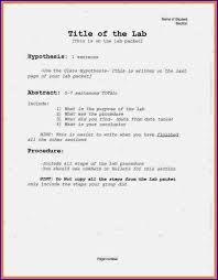 Abstract For A Lab Report   Only High Quality Custom Writing Ben Jane Fitness Preparing A Laboratory Report In Apa Format Photos
