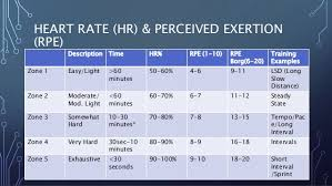 Perceived Exertion Heart Rate Chart Everything You Always Wanted To Know About Exercise But Were