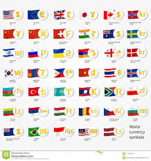 English County Flags Chart Symbols World Money With National County Flags Vector