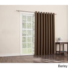 Furniture : Amazing Patio Door Window Treatments Gray Curtains ...