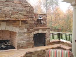 cottage living ledgestone fireplace