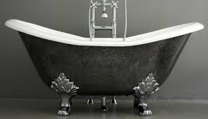 second hand cast iron baths uk. double slipper style cast iron bath tub second hand baths uk