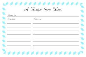 printable blank recipe cards template recipe cards printable helenamontana info