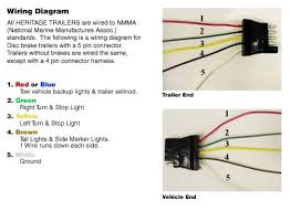 4 wire boat trailer wiring diagram full