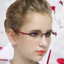get ations female half box myopia gles frame gles female ultralight eye box frames plain round gles frames