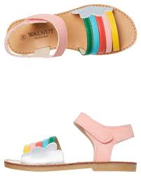 Walnut Shoes Size Chart Girls Rainbow Sandal Youth