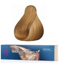 Wella Eos Color Chart Koleston Perfect Me 8 03 Light Blonde Natural Gold 60ml