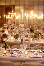 Reception Table Set Up Winter Wedding Reception Table Set Up