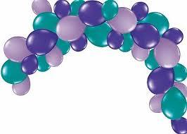 Balloon Garland Party Kit Mermaid Birthday Decoration 1st Birthday Balloons Ebay