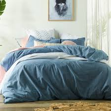 blue cotton quilt. Perfect Blue SKU VNTD1001 Stonewashed Denim Linen U0026 Cotton Quilt Cover Set Is Also  Sometimes Listed Under The Following Manufacturer Numbers 59313 59320 59337  And Blue
