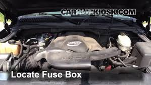blown fuse check 2002 2006 cadillac escalade 2004 cadillac locate engine fuse box and remove cover
