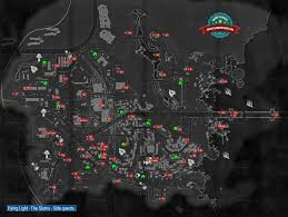 Dying Light Total Security Map Side Quests The Slums Dying Light Game Guide