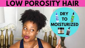 low porosity natural hair s
