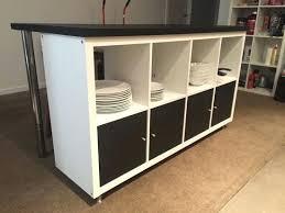 Meuble Bar Separation Table Haute De Cuisine Avec Rangement Cuisine