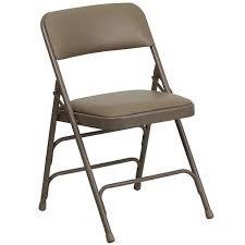 metal folding chairs with padded seats. Brilliant Metal Flash Furniture HAMC309AVBGEGG Beige Metal Folding Chair With 1 In Chairs With Padded Seats A