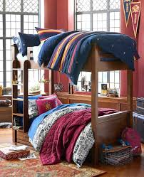 full size of hogwarts striped duvet cover and sham pictured on top bunk 30 pottery barn harry potter