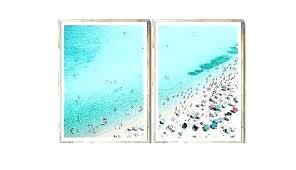 beach themed wall art kaboomredinfo