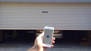 open garage door with iphonelift  the easy way to open your garage door by John Wei